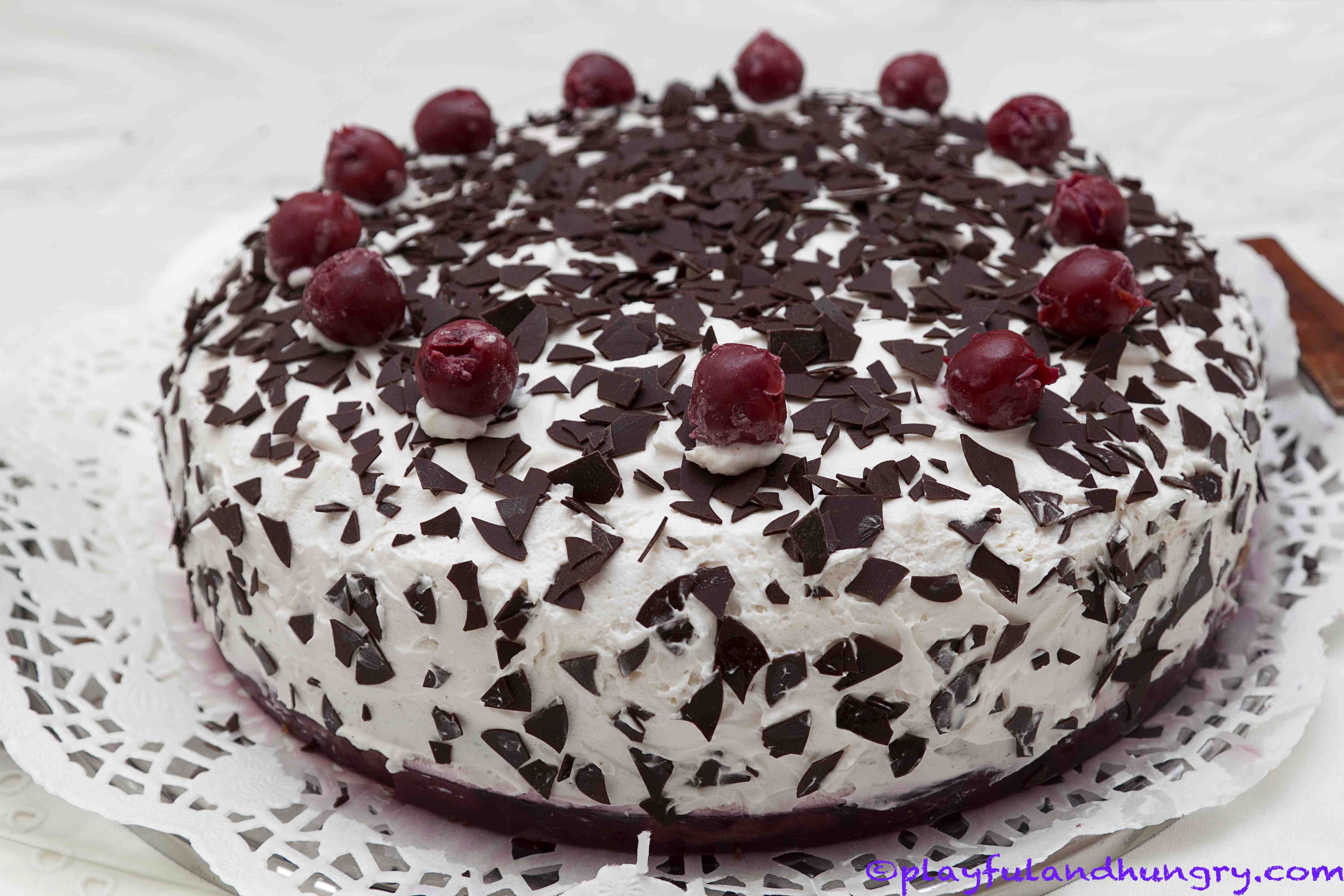 Images Of Birthday Cake Black Forest : black forest cake Playful and hungry