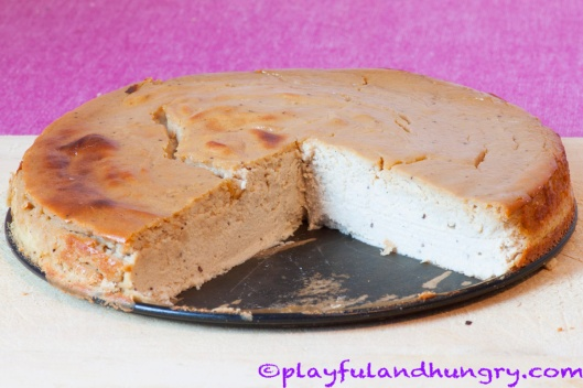 Whole Caramel Cheesecake
