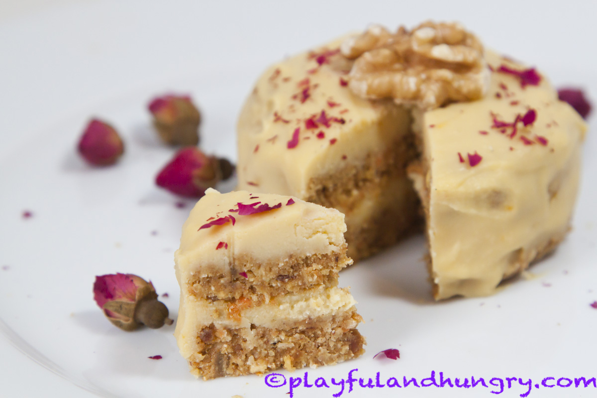 Pin Best Raw Vegan Carrot Cake Cake On Pinterest